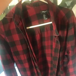 Men's red classic flannel very comfy